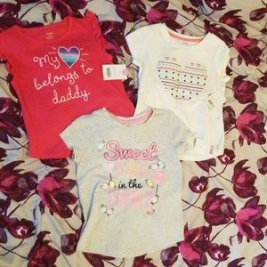 LOT! 5 ITEMS! Brand new with tags girls 5T George
